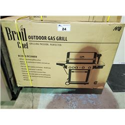 *BOXED* BROILCHEF NATURAL GAS OUTDOOR GAS GRILL MODEL 300E