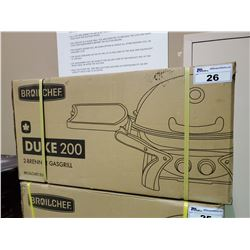 *BOXED* BROILCHEF DUKE 200 PORTABLE PROPANE GRILL