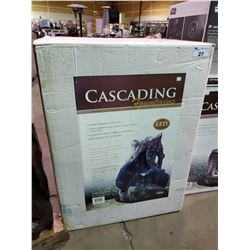 *BOXED* CASCADING FOUNTAINS INDOOR/OUTDOOR WATER FOUNTAIN
