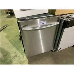 SAMSUNG STAINLESS STEEL DISHWASHER MODEL DW80M3021US