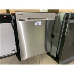SAMSUNG STAINLESS STEEL DISHWASHER MODEL DW80J302US
