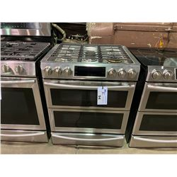 SAMSUNG STAINLESS STEEL 6.3 CU. FT. DUAL FUEL RANGE MODEL NY63T8751SS