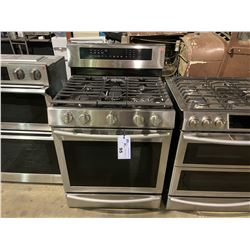 SAMSUNG STAINLESS STEEL 5.8 CU. FT. DUAL BURNER 20,000 BTU GAS RANGE