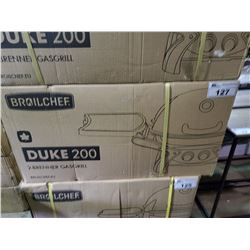 *BOXED* BROILCHEF DUKE 200 PROPANE 2-BURNER GRILL