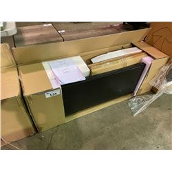 *BOXED* TV STAND & ELECTRIC FIREPLACE MANTEL COMBO