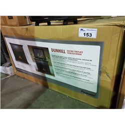 """DUNHILL ELECTRIC FIREPLACE (44"""" X 39"""" X 11"""")"""