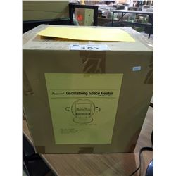 *BOXED* PARAMOUNT OSCILLATING SPACE HEATER WITH FLAME EFFECT
