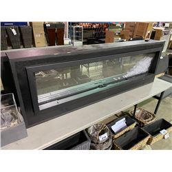 """ELECTRIC FIREPLACE (SOME COSMETIC DAMAGE) 68""""W X 22'H X 8""""D"""