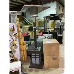 PARAMOUNT OUTDOOR PATIO HEATER IN BOX, DISPLAY UNIT INCLUDED