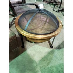 COBRA CO ROUND HAND-HAMMERED 100% COPPER FIRE TUB