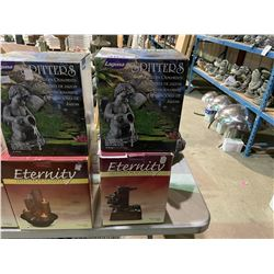 LAGUNA SPITTERS GARDEN ORNAMENT & ETERNITY FOUNTAIN COLLECTION