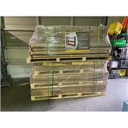 EMC HEAVY DUTY STORAGE RACKS 40' TOTAL LENGTH,