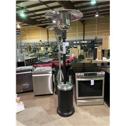 PARAMOUNT BLACK AND STAINLESS STEEL PATIO HEATER