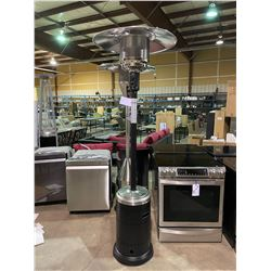 PARAMOUNT BLACK & STAINLESS OUTDOOR PATIO HEATER (BOXED)
