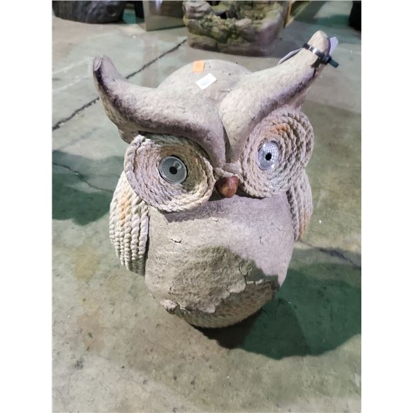 OWL GARDEN DECORATION