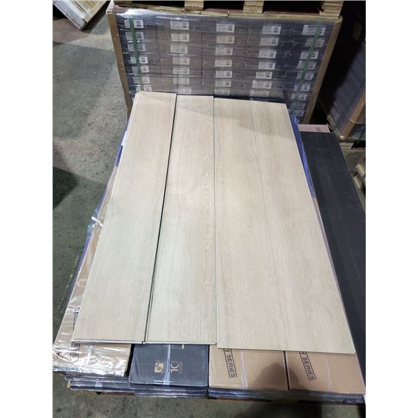 PALLET OF EC PREMIUM AQUAFIX 100% WATERPROOF LAMINATE FLOORING (B-GRADE)