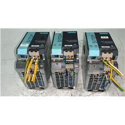 (3) - SIEMENS 6EP1333-3BA00 SITOP MODULAR 5A 1/2 PH POWER SUPPLIES