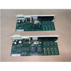 (2) - SIEMENS 6SN1118-0DM33-0AA1 CIRCUIT BOARDS