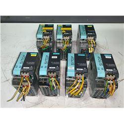 (7) - SIEMENS 6EP1333-3BA00 SITOP MODULAR 5A 1/2 PH POWER SUPPLIES