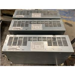 (3) - SIEMENS 6SL 3000-0BE25-5AA0 LINE FILTERS