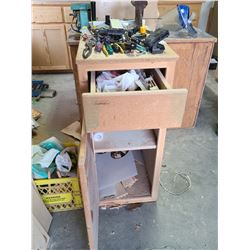Cabinet with Small Tools A
