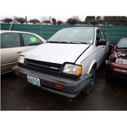 1989 Dodge Colt Vista