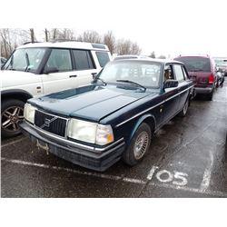 1992 Volvo 240DL