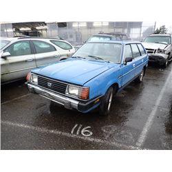 1982 Subaru GL