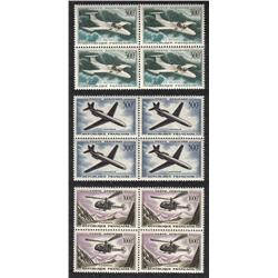 France #C34 to C36 XF-NH BLOCK OF 4 *AIRMAIL STAMP*