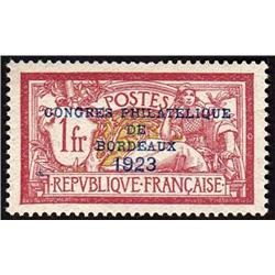 FRANCE #197 MINT OG XF-NH *PERFECTION* OVERPRINTED 1923