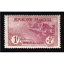 FRANCE #B9 MINT OG XF-NH *PERFECTION*