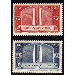 France #311-312 XF-NH SELECT