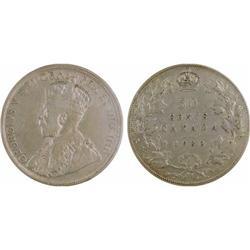 50¢ Canada 1932 VF20 ICCS