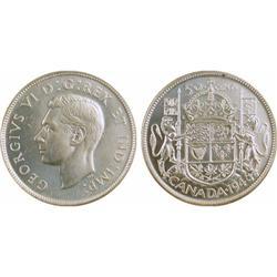 50¢ Canada 1946 MS63 ICCS