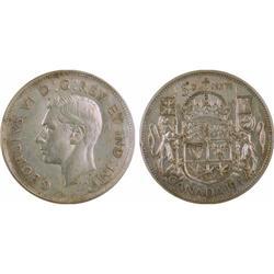 50¢ Canada 1947 EF 40 ICCS
