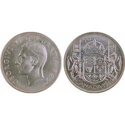 50¢ Canada 1949 MS62 ICCS