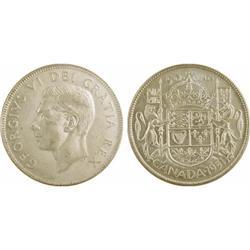 50¢ Canada 1951 MS63 ICCS