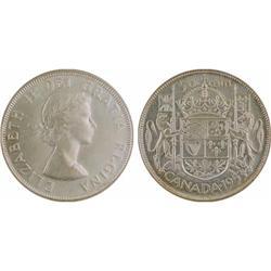 50¢ Canada 1953 MS63 ICCS