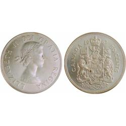 50¢ Canada 1962 & 1966 MS64 ICCS