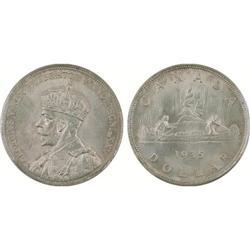 $1.00 Canada 1935 MS64 ICCS
