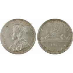 $1.00 Canada 1936 MS63 ICCS