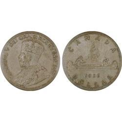 $1.00 Canada 1936 MS64 ICCS