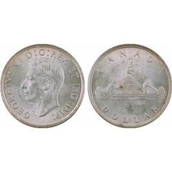 $1.00 Canada 1937 MS63 ICCS