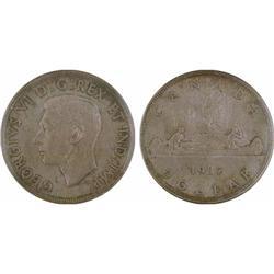 $1.00 Canada 1937 MS64 ICCS