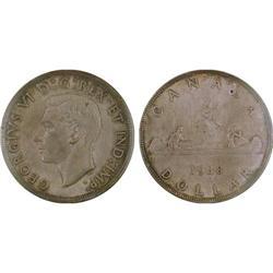 $1.00 Canada 1938 MS63 ICCS