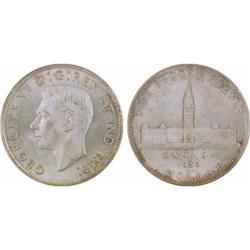 $1.00 Canada 1939 MS63 ICCS