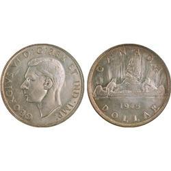 $1.00 Canada 1945 MS63 ICG