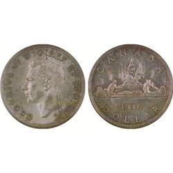 $1.00 Canada 1946 MS60 ICCS