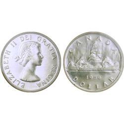 $1.00  Canada 1954 PL65 ICCS