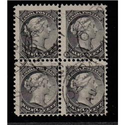 #34 F-VF-USED SON CDS BLOCK 4 SMALL QUEEN